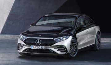 Mercedes-Benz EQS – front quarter static