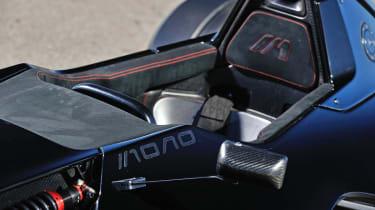 BAC Mono seat headrest