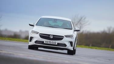 Vauxhall Insignia GSi – front cornering
