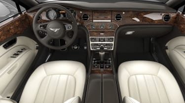 Bentley Mulsanne front cabin