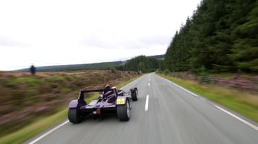 Caparo T1 on the road