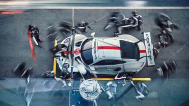 Porsche 911 RSR - top