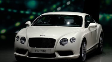 Bentley Continental GT V8 S revealed
