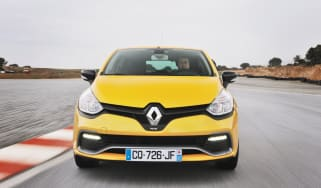 Renaultsport Clio 200 Turbo front, on track cup chassis