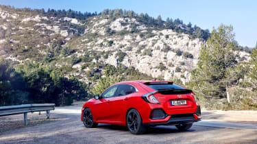 Honda Civic review - rear quarter static