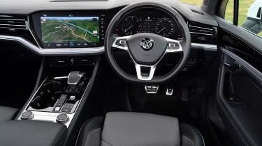 Volkswagen Touareg UK drive - interior