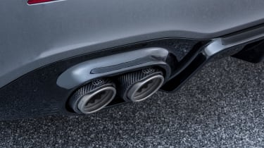 Brabus-tuned A-Class exhaust