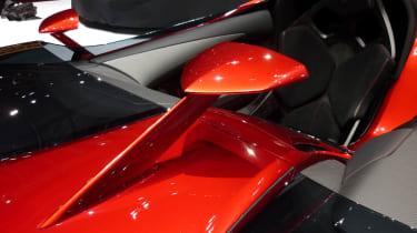 Lamborghini Aventador J rear-view mirror