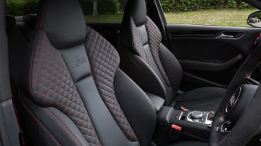 Audi RS3 Sportback - sport seats