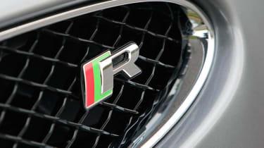 2013 Jaguar XKR Convertible R badge