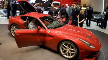 Geneva 2012: Ferrari F12 Berlinetta