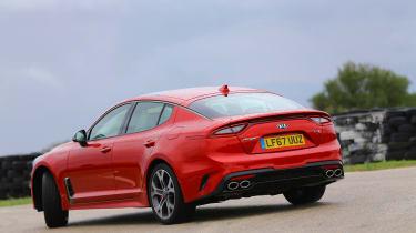 Kia Stinger GT-S UK - rear static