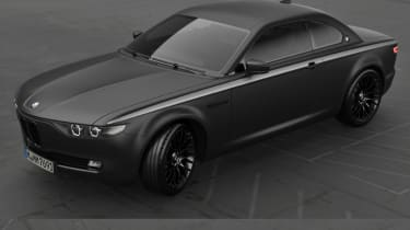 BMW CS Vintage Concept black