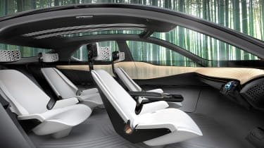 Nissan iMx Concept - seating