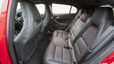 Mercedes GLA250 AMG rear seats
