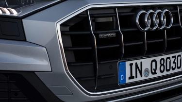 Audi Q8 – grille