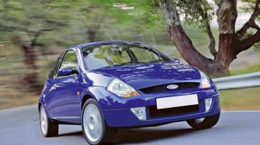 Ford SportKa – front quarter