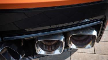 Chevrolet Corvette C8 Cab EU review – exhaust