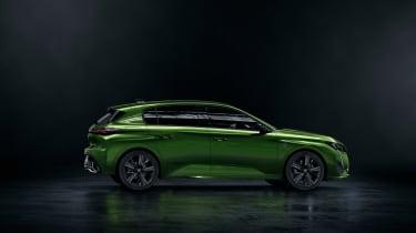 2021 Peugeot 308 - side