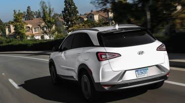 Hyundai Nexo CES – rear quarter