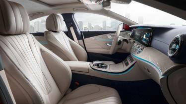 Mercedes-Benz CLS – front seats