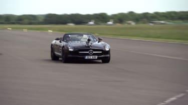 Video: Mercedes-Benz SLS record attempt