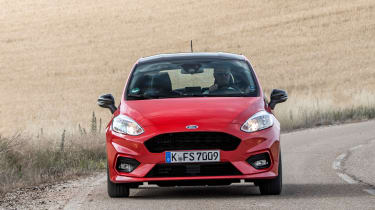 Ford Fiesta ST-Line - square front