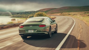 Bentley Continental GT V8 review - rear