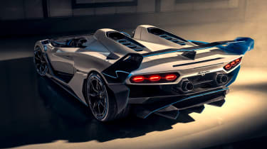 Lamborghini SC20 speedster rear