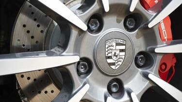 Porsche 911 Targa 4S alloy wheel