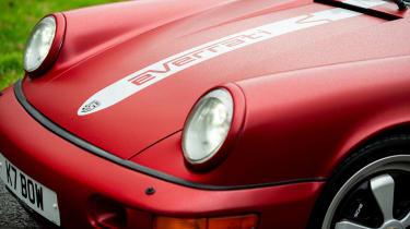 Everrati Porsche 964 – lights