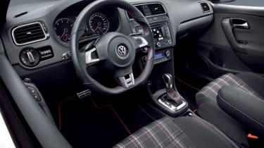 VW Polo GTI interior from side