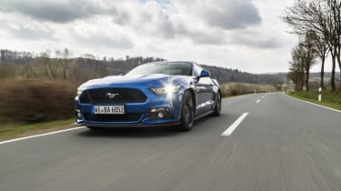 Ford Mustang GT V8 front three quarters