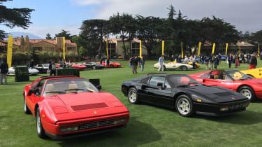 Ferraris at Pebble Beach