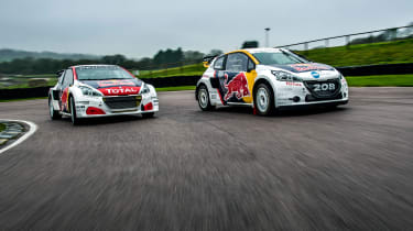 2016 and 2017 Peugeot 208 WRX - Timmy Hansen and Kevin Hansen