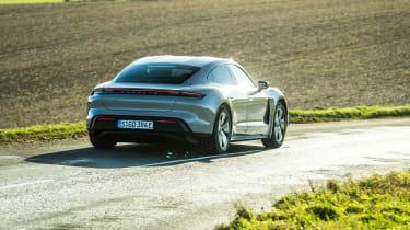 Porsche Taycan rwd - coffee rear