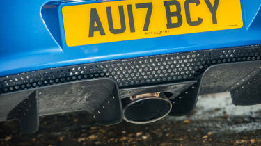 Lotus Elise Sport 220 - Exhaust