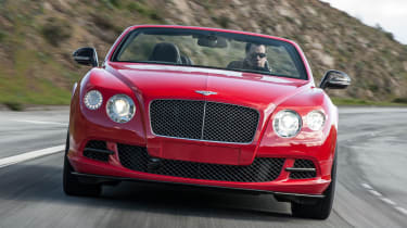 2013 Bentley Continental GT Speed Convertible red front grille