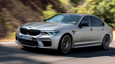 BMW M5 Competition review - cornering