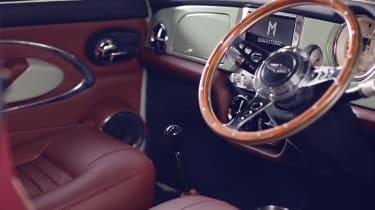David Brown Automotive Mini Remastered interior
