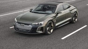 Audi E-tron GT Concept - front