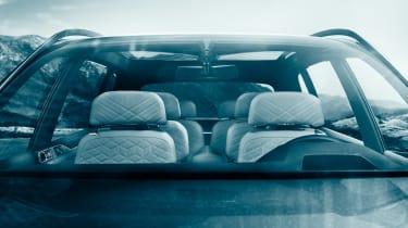 BMW X7 Concept - seats