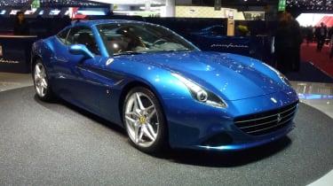 Geneva supercars: Ferrari California T