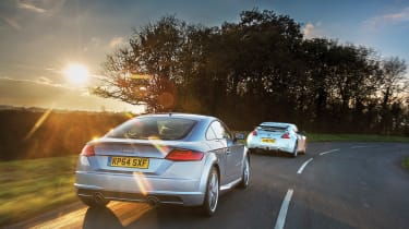 Group shot - Audi TT rear