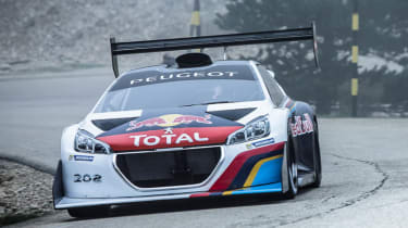 Peugeot 208 T16 Pikes Peak video Mont Ventoux
