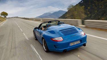 Porsche 911 Speedster road test