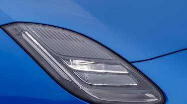 Jaguar F-type four-cylinder headlight