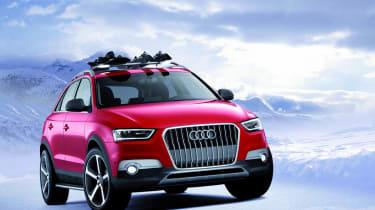 Detroit motor show: Audi Q3 Vail Concept