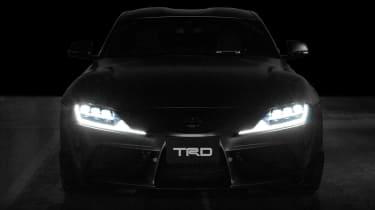 Toyota Supra TRD parts - lights