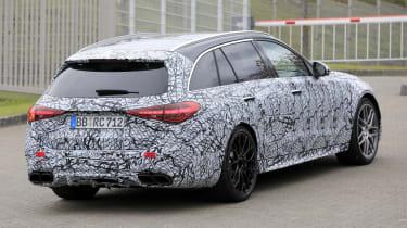 2022 Mercedes-AMG C63 S Estate – rear quarter